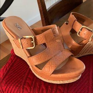 Ugg platform sandals